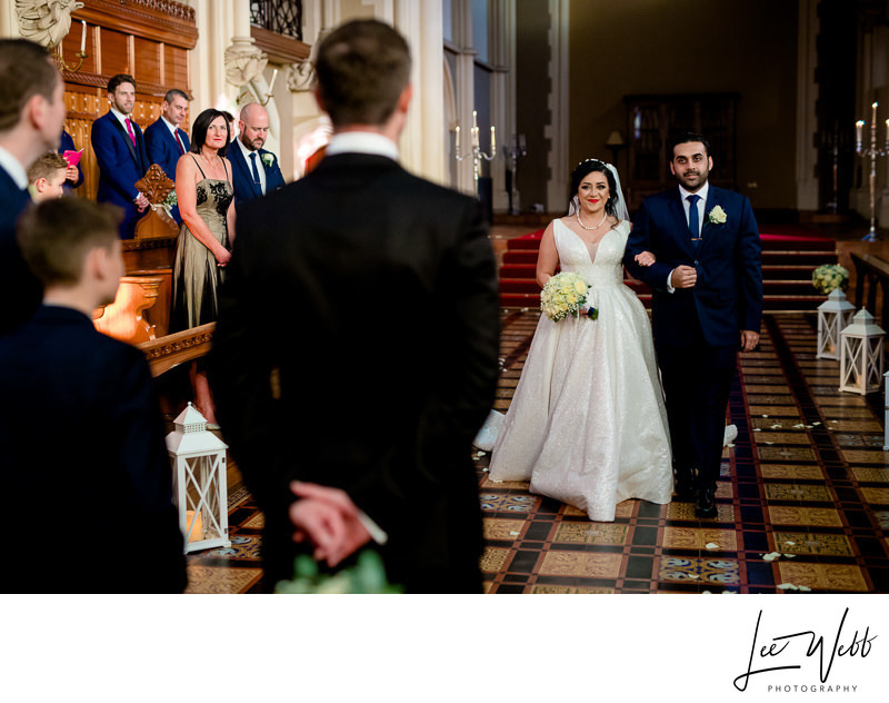Callow Great Hall Wedding Ceremony Stanbrook