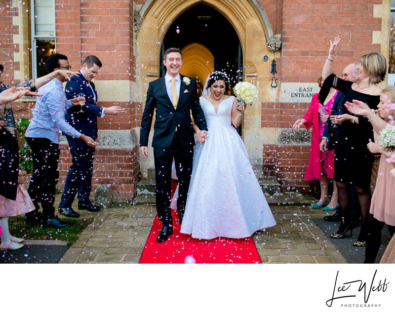 Stanbrook Abbey Wedding Confetti