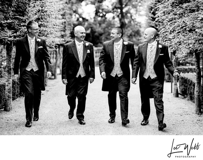 Wood Norton Weddings Groomsmen