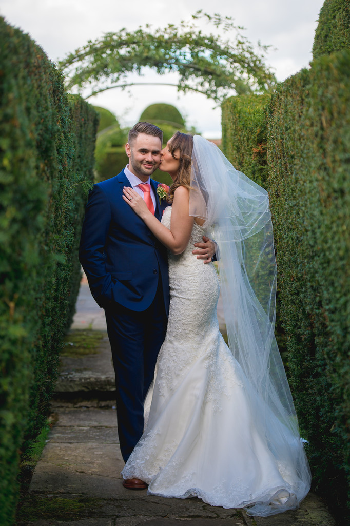 Birtsmorton Court White Garden Wedding