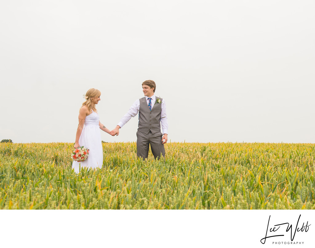 Mythe Barn Wedding