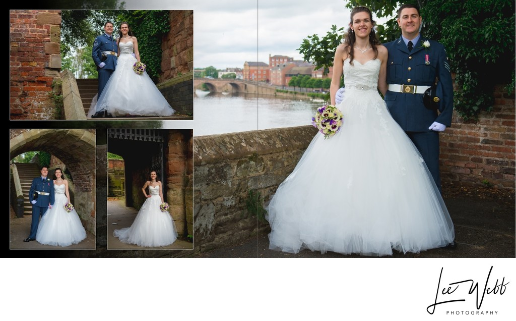 Worcestershire Wedding Photography Album Pages 27 & 28