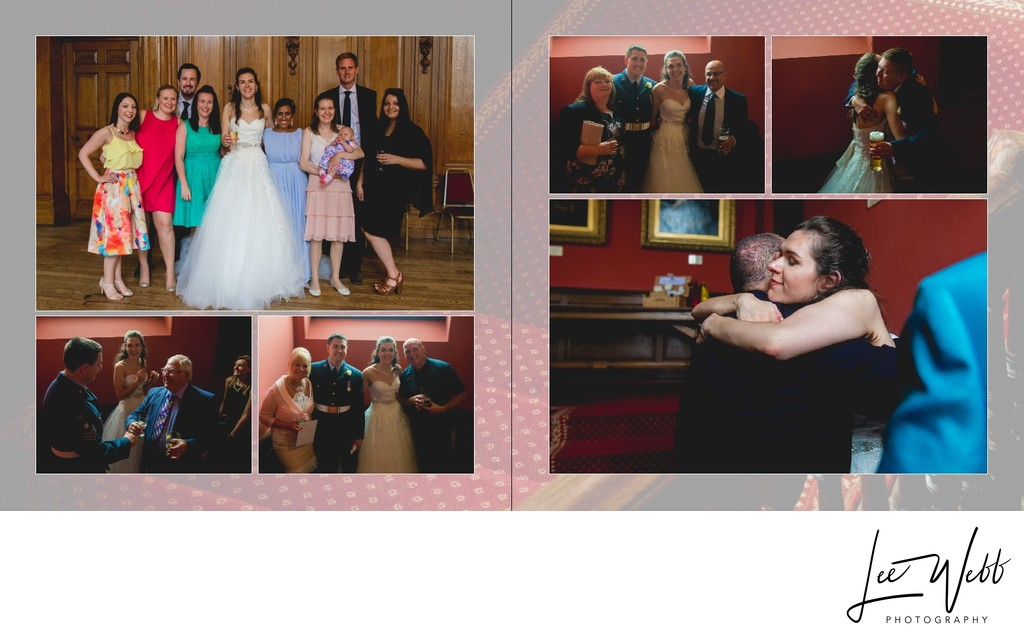 Worcestershire Wedding Photography Album Pages 33 & 34