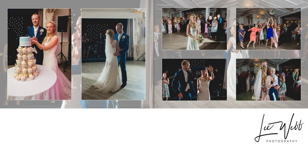 Manor by the Lake Wedding Album Pages 30 & 31