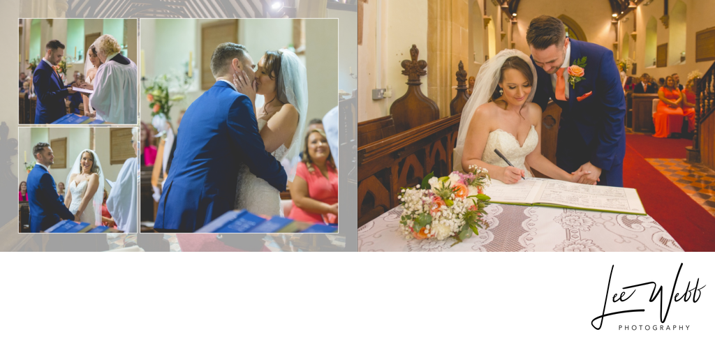 Birtsmorton Court wedding album 13 & 14