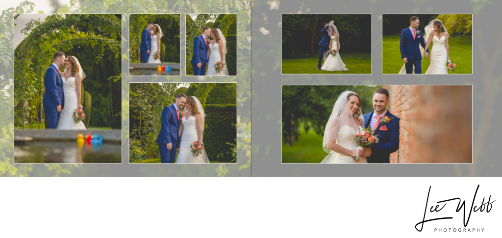 Birtsmorton Court wedding album 23 & 24