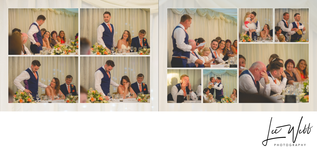 Birtsmorton Court wedding album 29 & 30