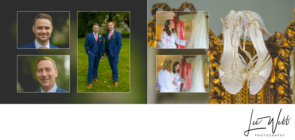 Birtsmorton Court wedding album 3 & 4