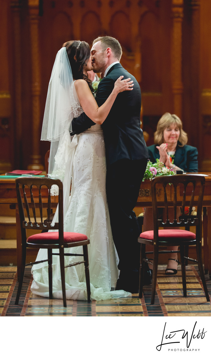 Stanbrook Abbey First Kiss