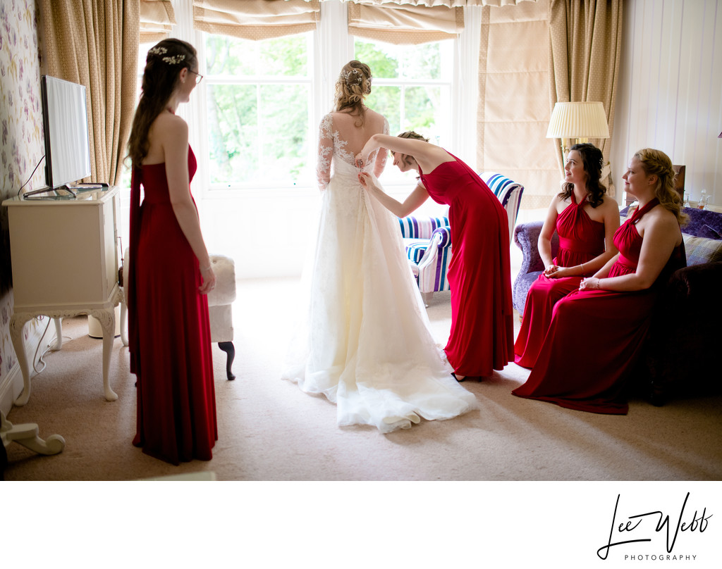 Bridesmaids at Kateshill House
