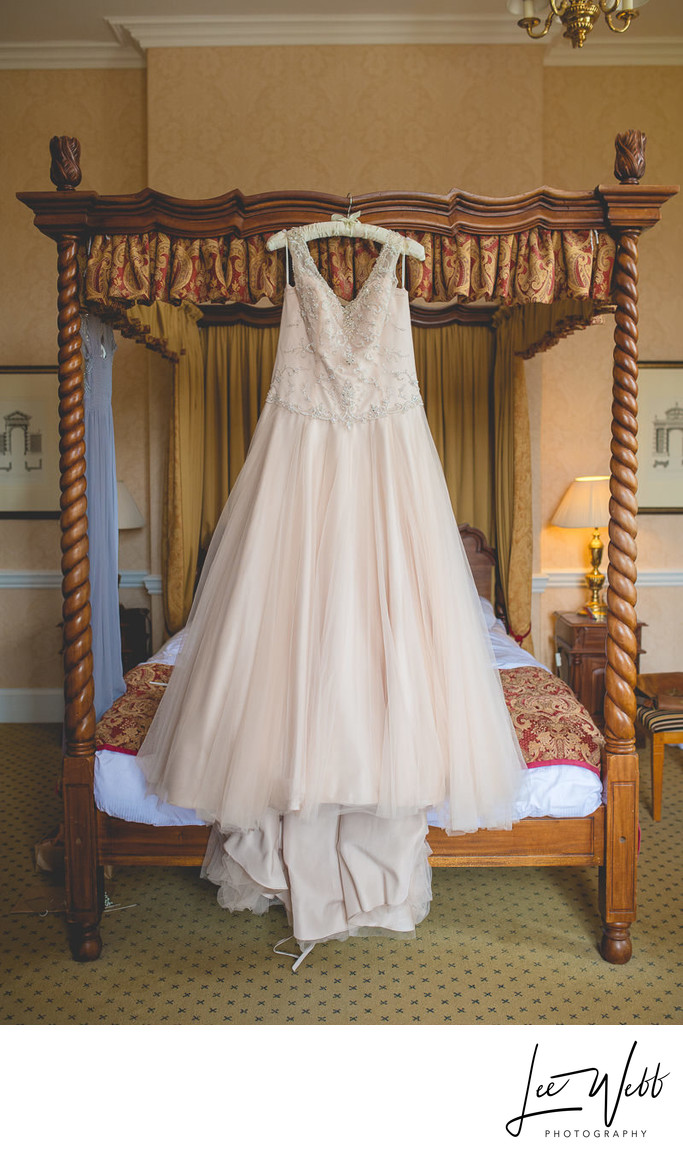 Wedding Dress Dumbleton Hall