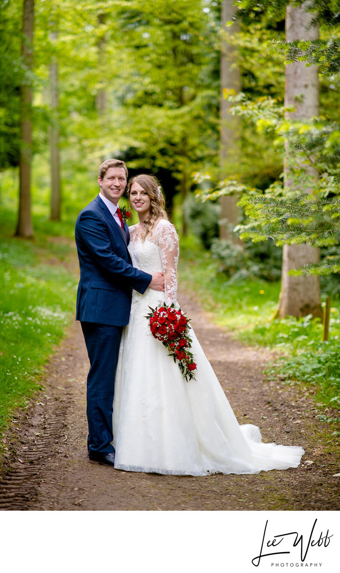Bodenham Arboretum Bride and Groom