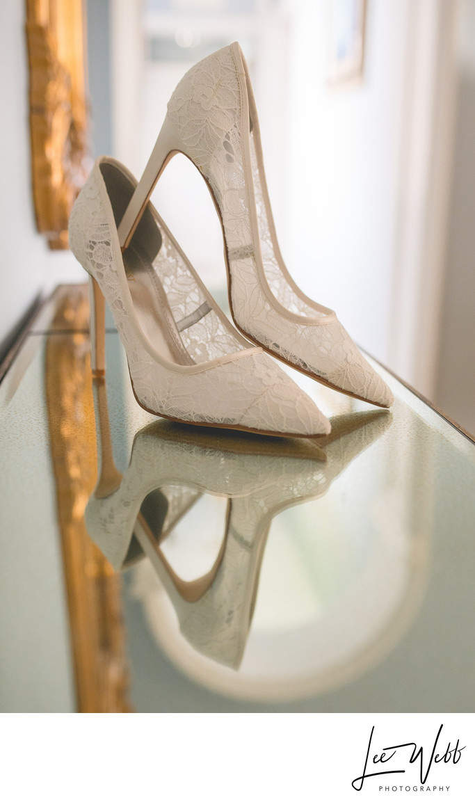 Shoes Stanbrook Abbey Wedding Photos Worcestershire