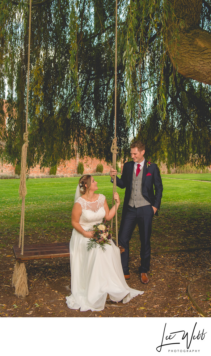 Swing Stanbrook Abbey Wedding Venue Worcestershire