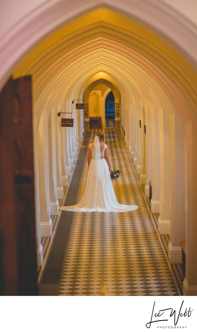 Cloisters Stanbrook Abbey Wedding Venue Worcestershire