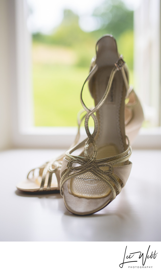Wedding Shoes Kidderminster Photography