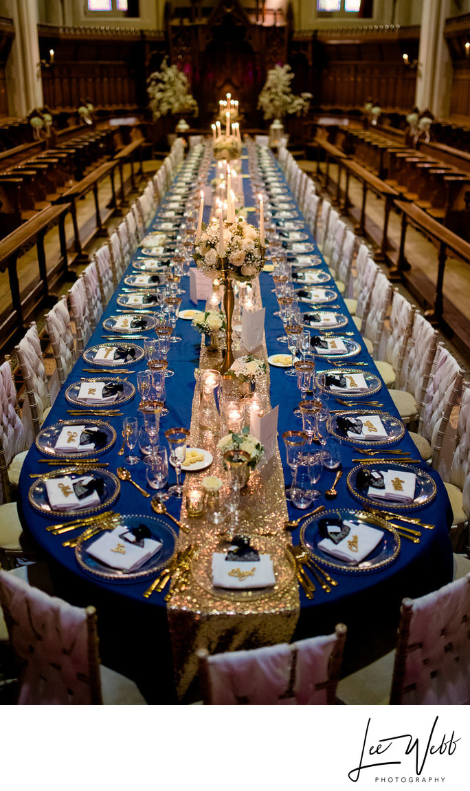 Stanbrook Abbey Banquet Table