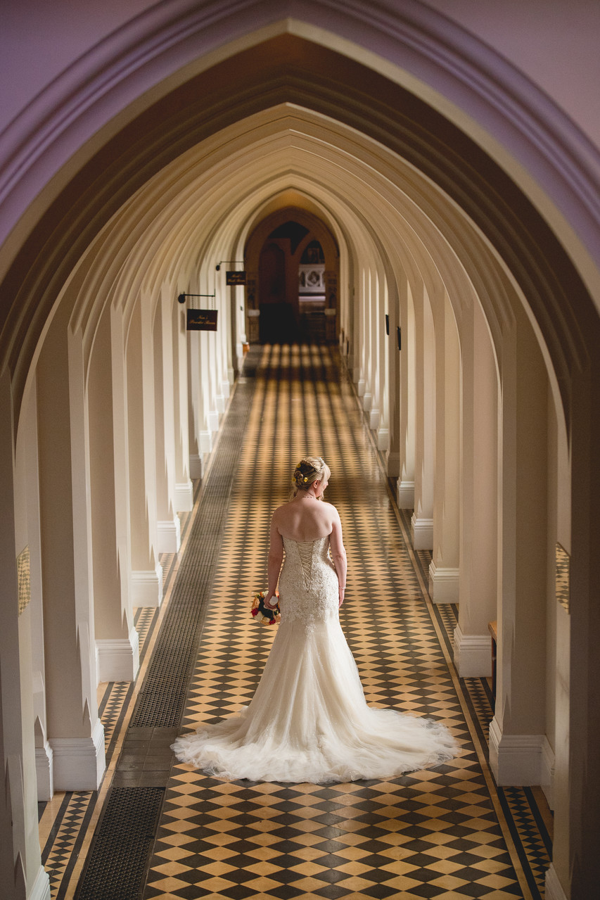 Wedding at Stanbrook Abbey