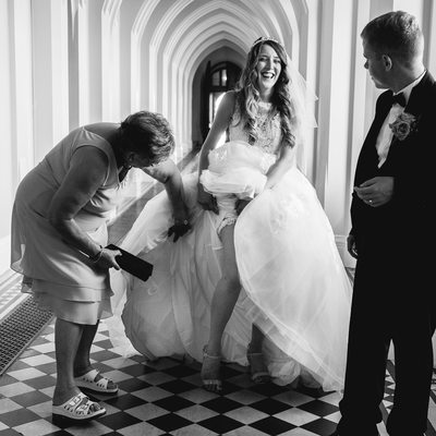 Wedding Photographer Stanbrook Abbey