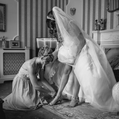 Reportage Wedding Photography in Worcestershire.