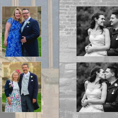 Worcestershire Wedding Photography Album Pages 25 & 26