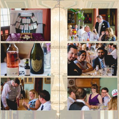 Worcestershire Wedding Photography Album Pages 35 & 36