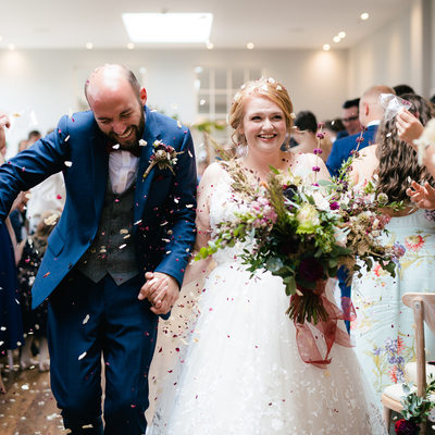 Bredenbury Court Weddings Confetti