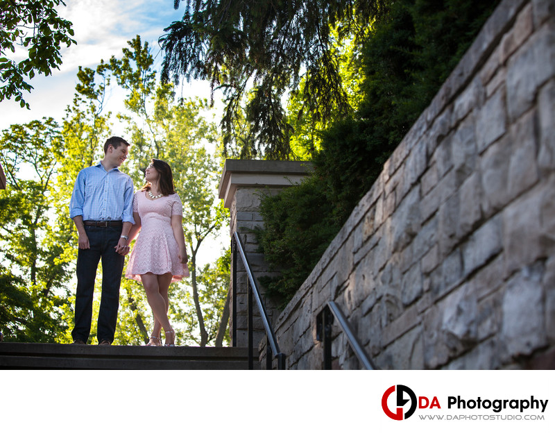 Paletta Mansion Engagement Photographer