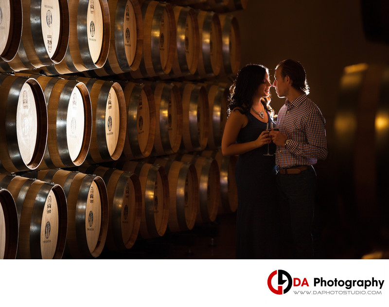 Engagement Photographer at Two Sisters Winery