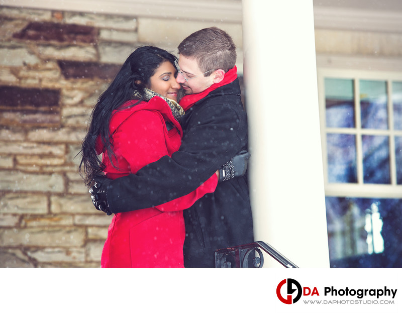 Winter Engagement in Burlington