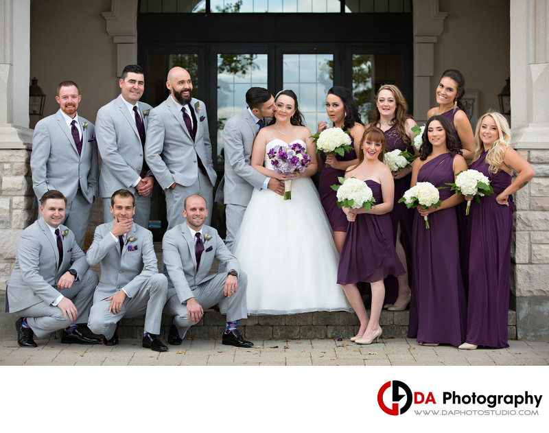 Bridal Party at Glencairn Golf Club