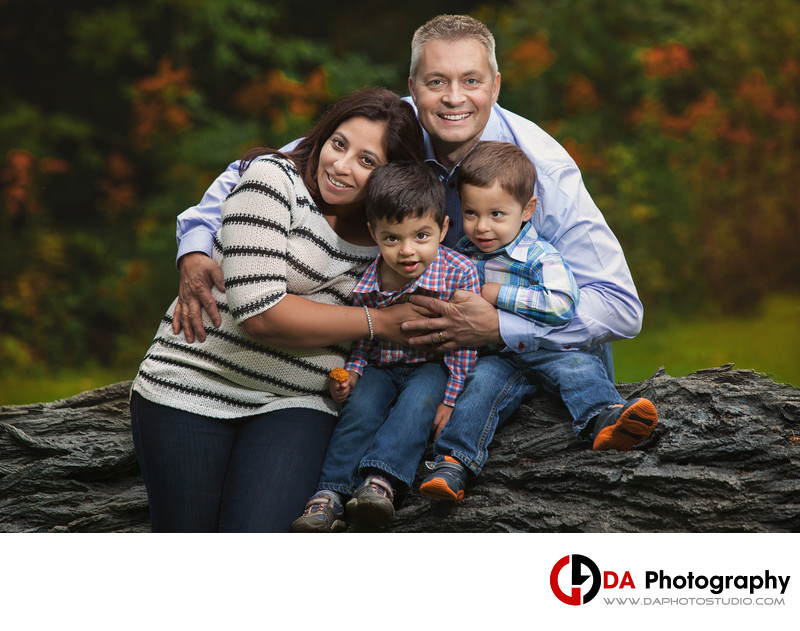 Fall Family Photos at Gairloch Gardens