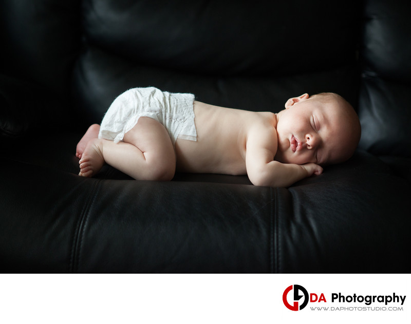Newborn Portrait of a Baby in Sutton
