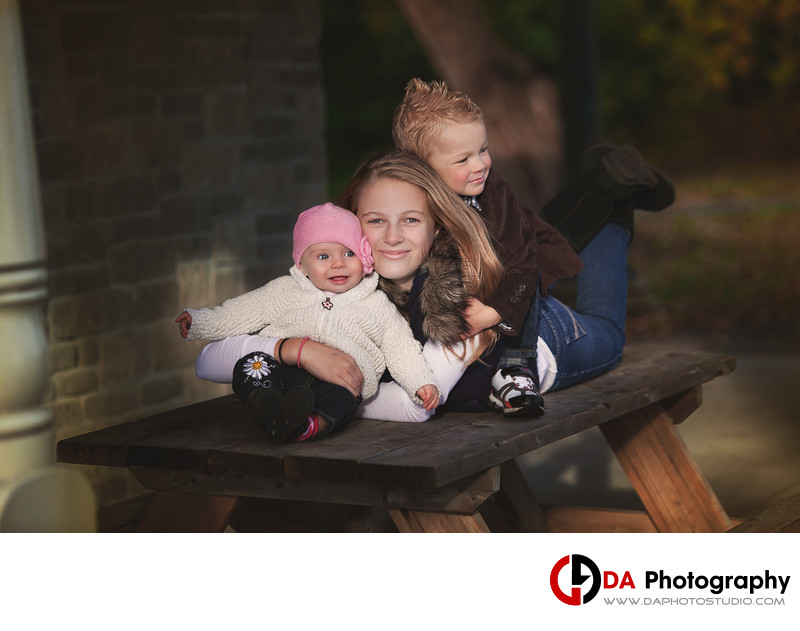 Fall Children Photography at Belleville Waterfront Park