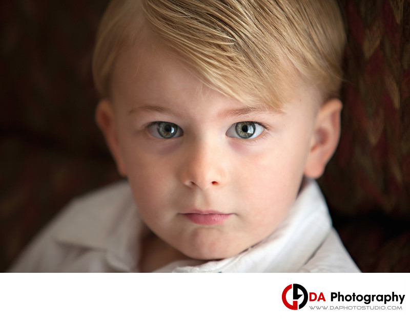 Toddler Portrait in Burlington