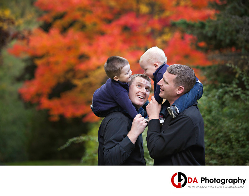 Whitby Family Photographer at Cullen Gardens
