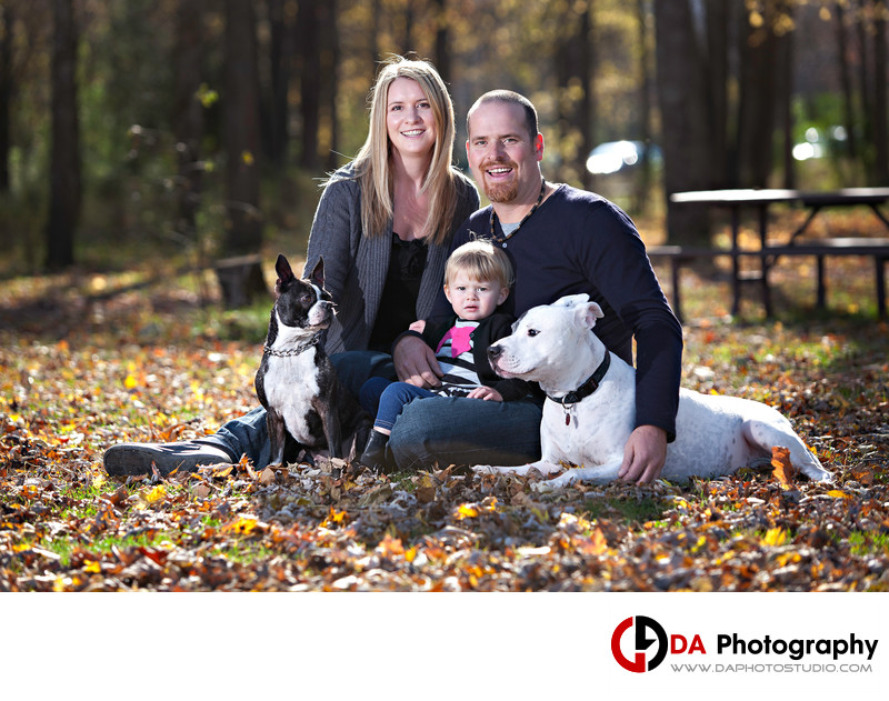 Family Photographers at Sibbald Point Provincial Park