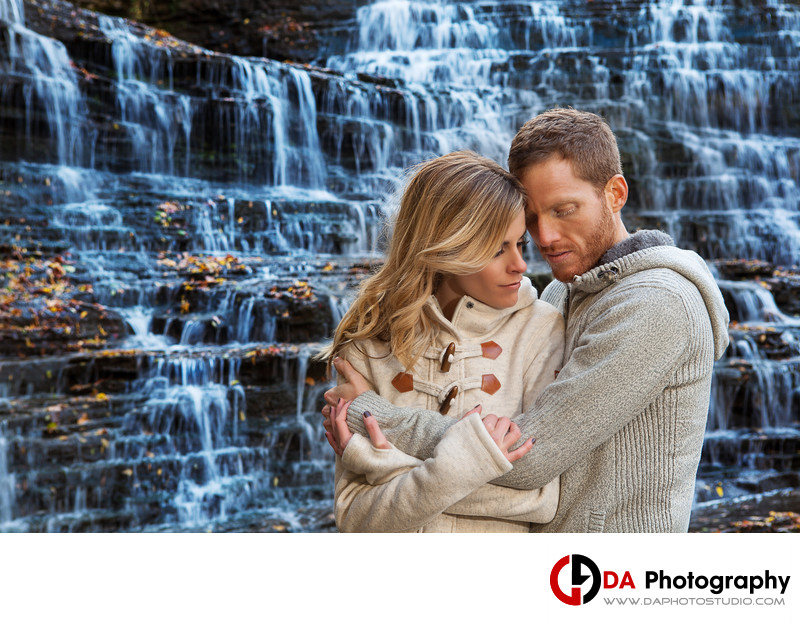 Albion Falls Engagement Photographer