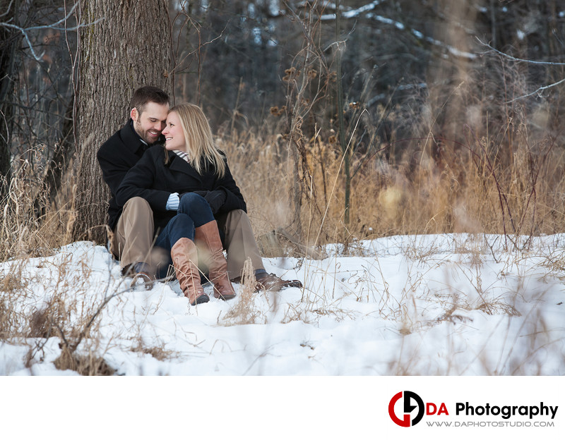 Etobicoke Creek Trail Engagement Photographer