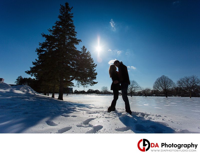 Winter Engagement at Mohawk College in Hamilton
