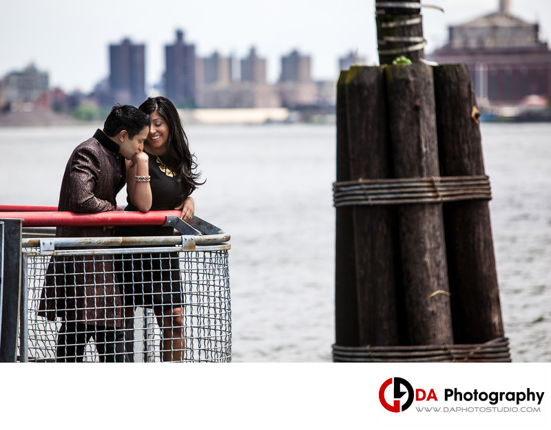 NYC Brooklyn Bridge Engagement Photographer