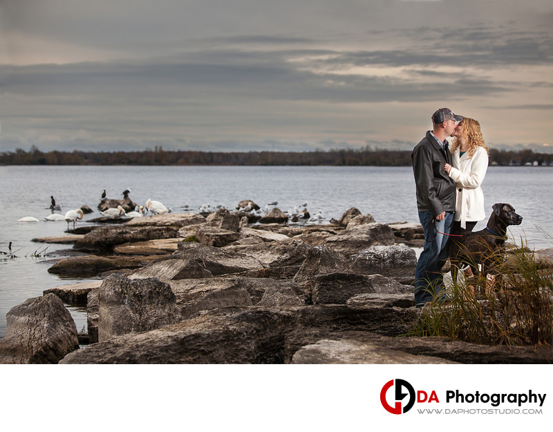 Beach Engagement in Belleville, ON