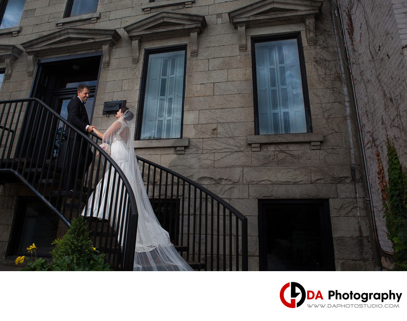 Hess Village Hamilton Wedding Photography