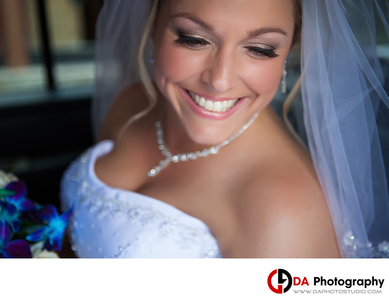 Bride at Caledon Estates Banquet Halls