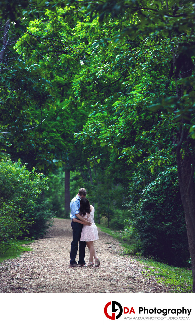 Engagement Photos at Paletta Mansion in Burlington
