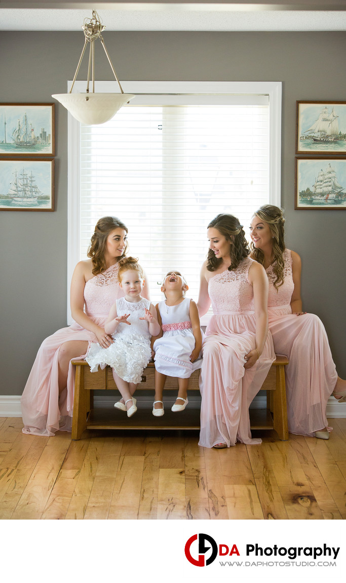 Bridesmaids dresses in Milton