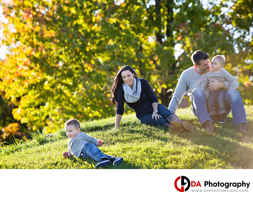 Top Family Photographers at Rattlesnake Point in MIlton