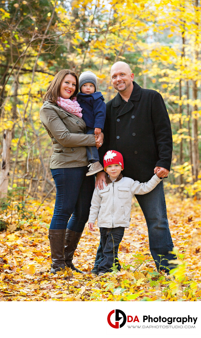 Fall Family Photographer in Orangeville