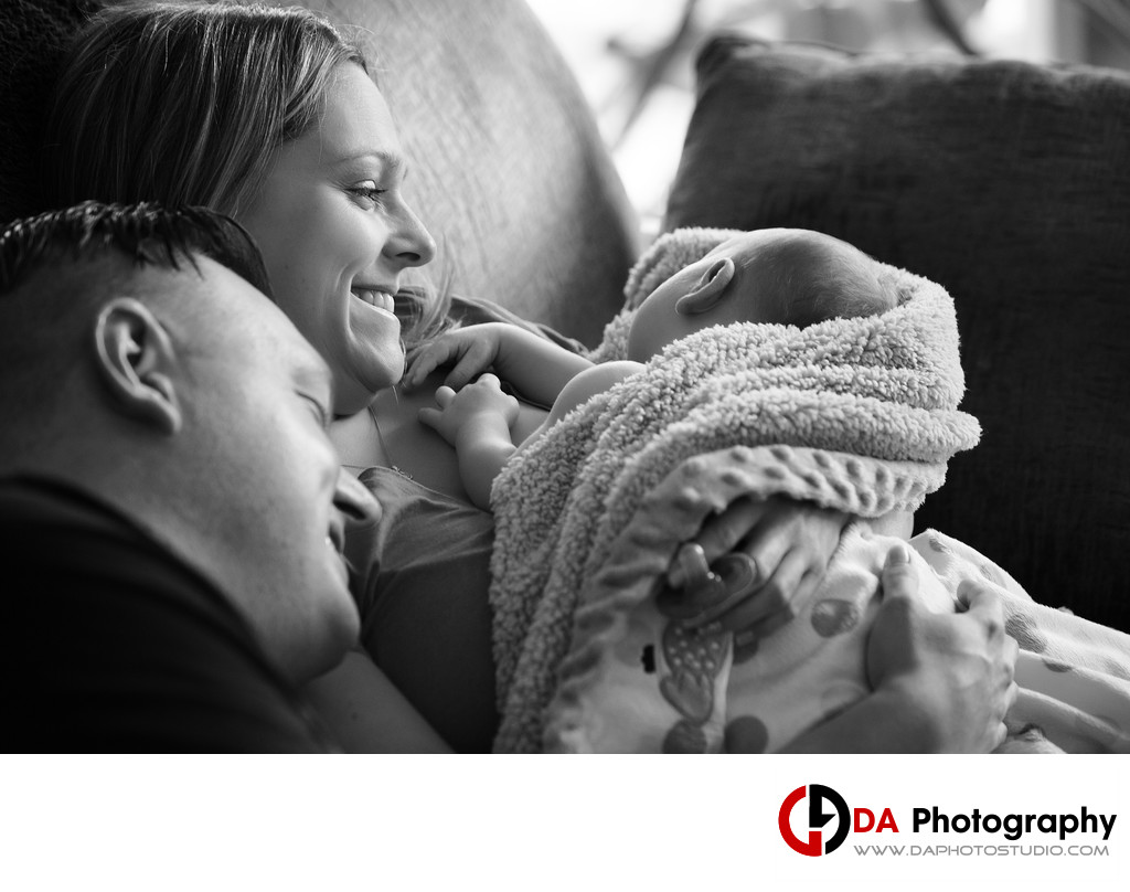 Newborn Baby Photos in Caledon
