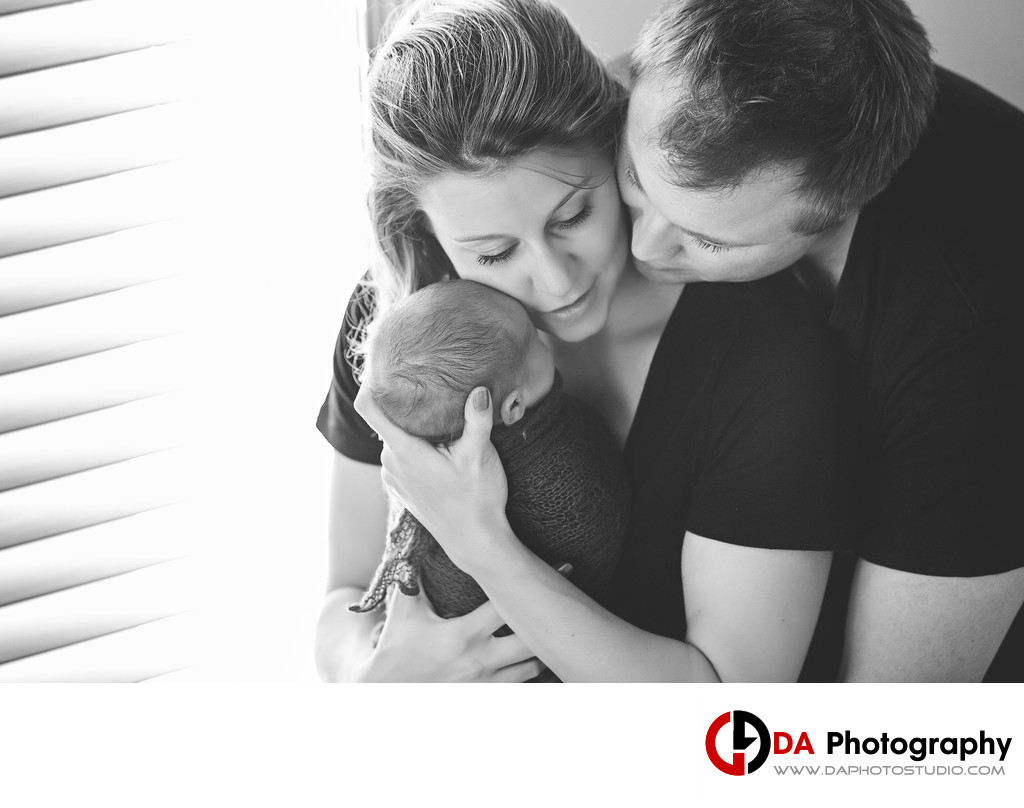 NewBorn Baby Family Photographers in Burlington